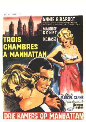 Trois chambres à Manhattan - Poster Belgique
