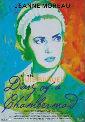 Le Journal d'une femme de chambre - Poster Royaume-Uni