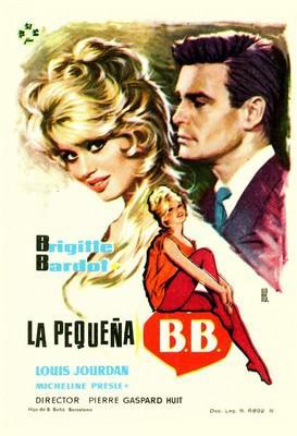 La Pequeña B.B. - Poster Espagne