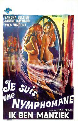 Forbidden Passion / I Am a Nymphomaniac - Poster Belgique
