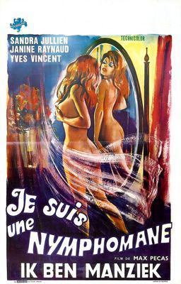 Je suis une nymphomane - Poster Belgique