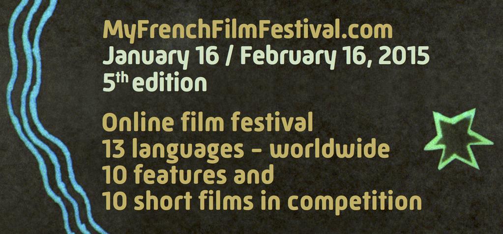 ¡El catálogo  de MyFrenchFilmFestival  ya está en línea !
