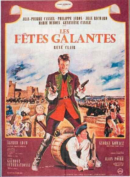 Fiestas galantes - Poster France
