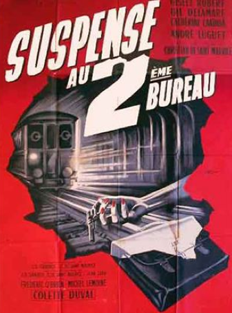 Suspense au 2e Bureau