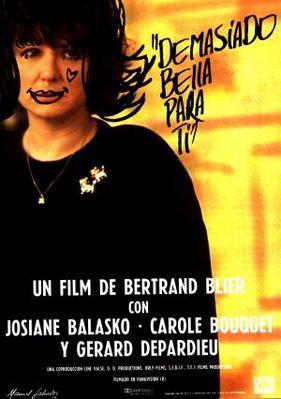 Too Beautiful for You - Poster Espagne