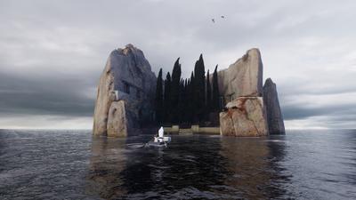 La isla de los muertos VR - © Benjamin Nuel