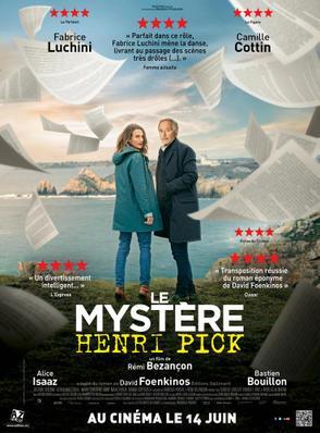Le Mystère Henri Pick - Poster - Québec