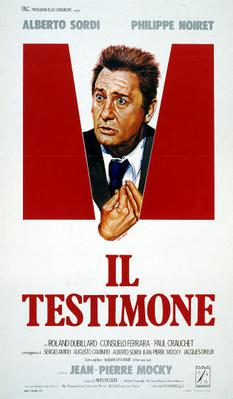 Le Témoin - Poster Italie