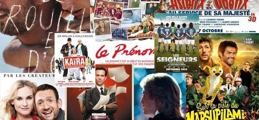 140M d'entrées pour le cinéma français à l'international