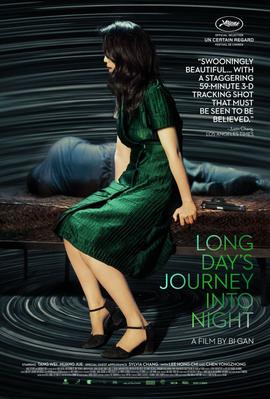 Un grand voyage vers la nuit - Affiche États-Unis