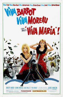 ビバ!マリア - Poster Etats-Unis