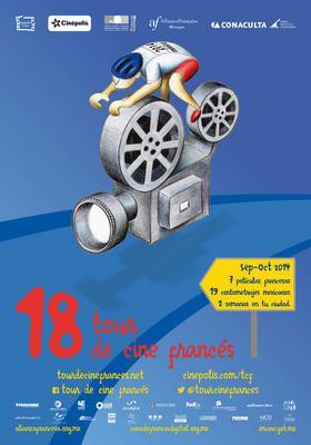 Tour de Cine Francés en México - 2014