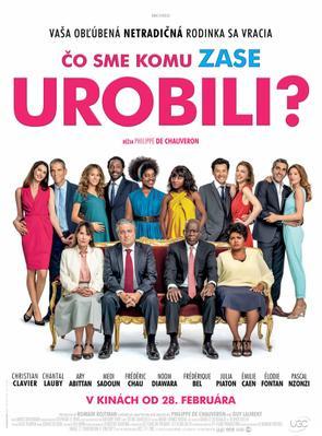 Qu'est-ce qu'on a (encore) fait au bon Dieu ? - Poster - Slovakia