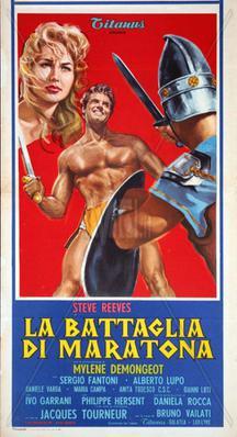 La Bataille de Marathon - Poster Italie