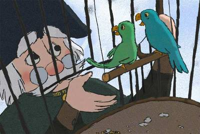 Le Chien, le général et les oiseaux
