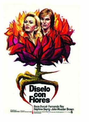 Diselo con flores - Poster Espagne
