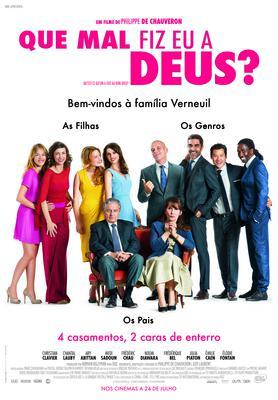 Qu'est-ce qu'on a fait au bon Dieu ? - Poster - Portugal