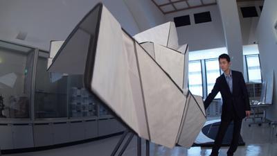 Un monde en plis, le code origami
