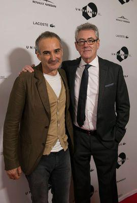 Toronto 2016: report on French films at the 41st edition - Olivier Assayas et Piers Handling, directeur du TIFF - © UniFrance