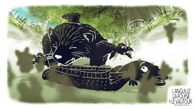 L'Anguille, la fouine et le vautour