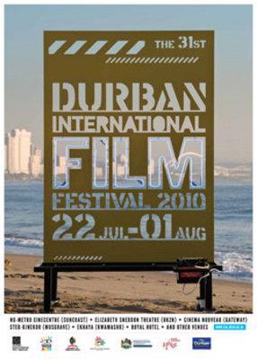 Durban accueille la 31e édition de son festival du film - Poster - 2010