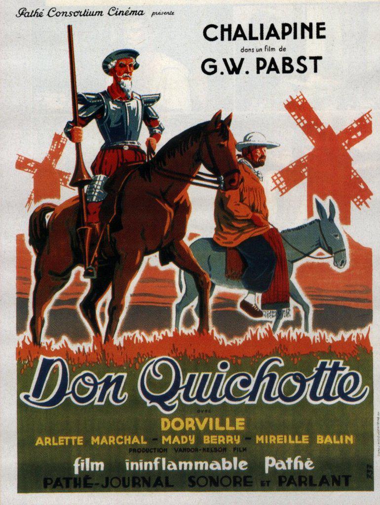 Don Quixote De Georg Wilhelm Pabst 1933 Unifrance