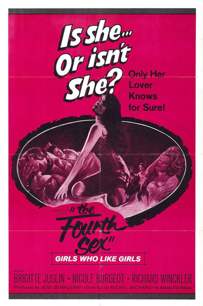 The Fourth Sex - Poster Etats-Unis