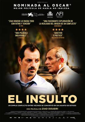 The Insult - Poster - Spain