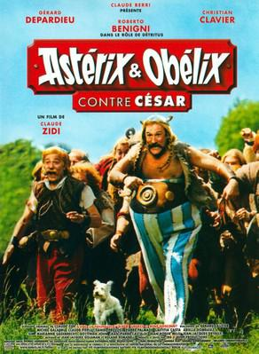 Asterix and Obelix versus Cesar - Poster France