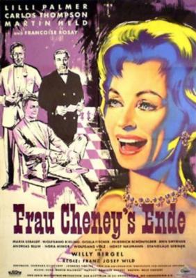 La Mystérieuse Madame Cheney - Poster Allemagne