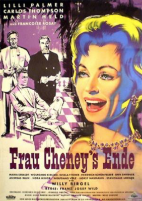 The End of Mrs. Cheney - Poster Allemagne