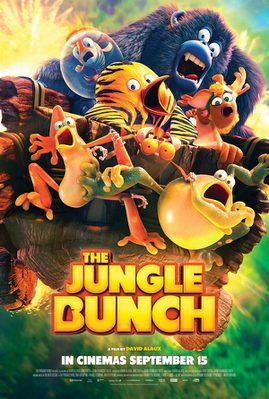 The Jungle Bunch - La Panda de la selva - Poster - UK