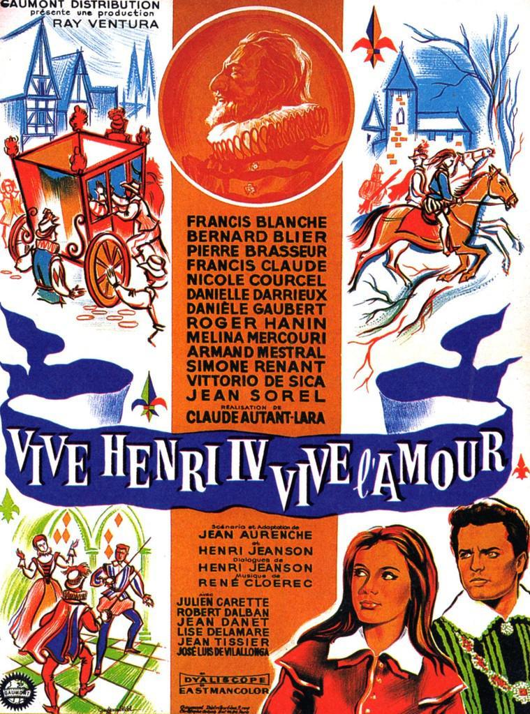 Vive Henri IV, vive l'amour !