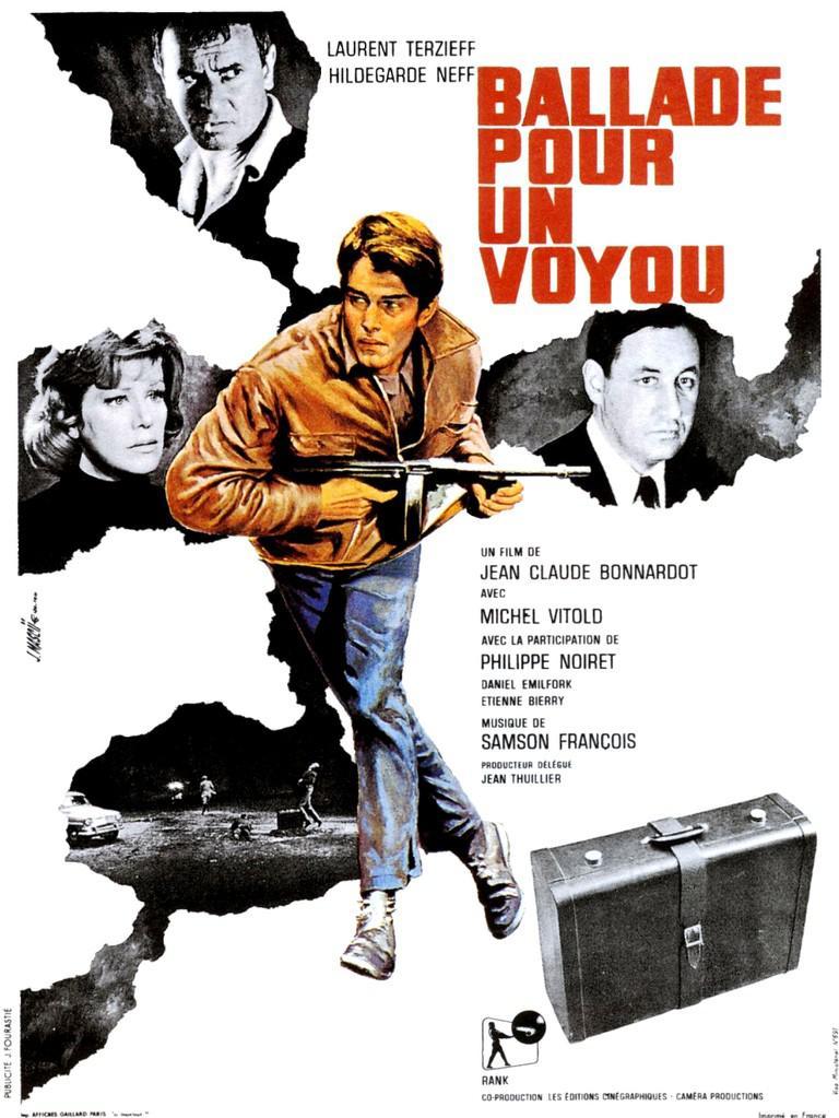 Ballad for a Hoodlum - Poster France