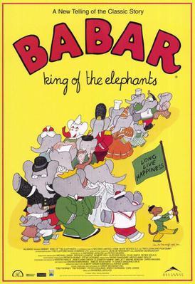 Babar, roi des éléphants - Poster - USA