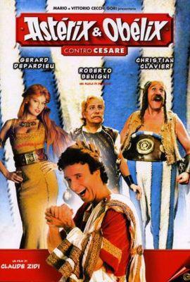 Astérix et Obélix contre César - Poster Italie
