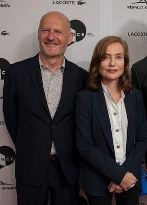 Toronto 2016 : bilan de la 41e édition pour le cinéma français - Jean-Paul Salomé, président d'UniFrance, et Isabelle Huppert - © UniFrance