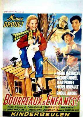 Clara et les méchants (ou Bourreaux d'enfants) - Poster Belgique