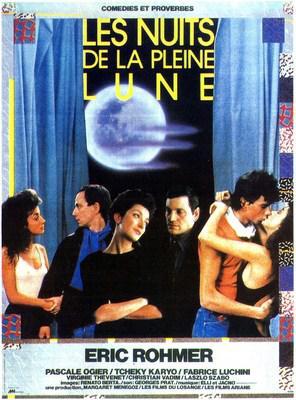 Las Noches de la luna llena - Poster France