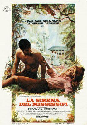 La Sirena del Mississipi - Poster Espagne