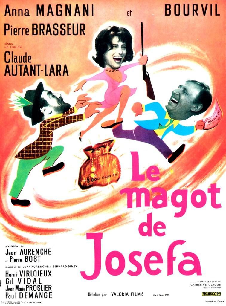 Le Magot de Josefa - Poster France