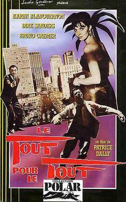 Le Tout pour le tout - Jaquette VHS France