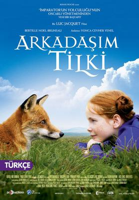The Fox and the Child - Poster Turquie