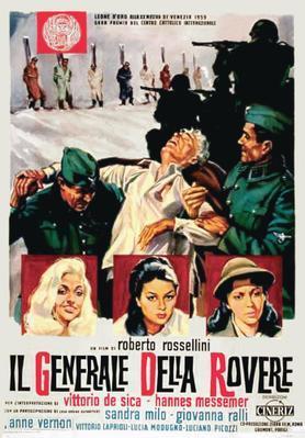 Le Général Della Rovere - Poster - Italy