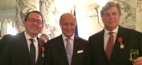Les dirigeants de Sony Classics décorés de la Légion d'honneur