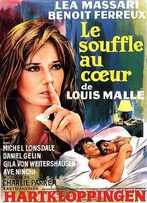 Le Souffle au cœur - Poster Belgique