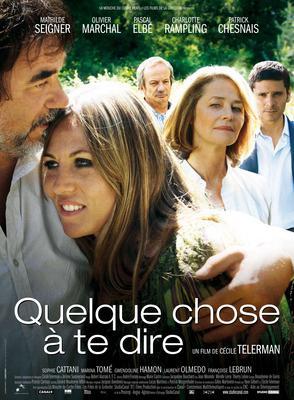 Quelque chose à te dire - Poster - France