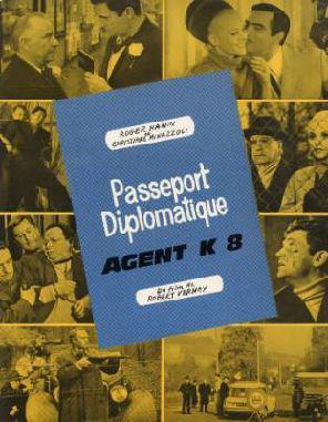 Passeport diplomatique Agent K8