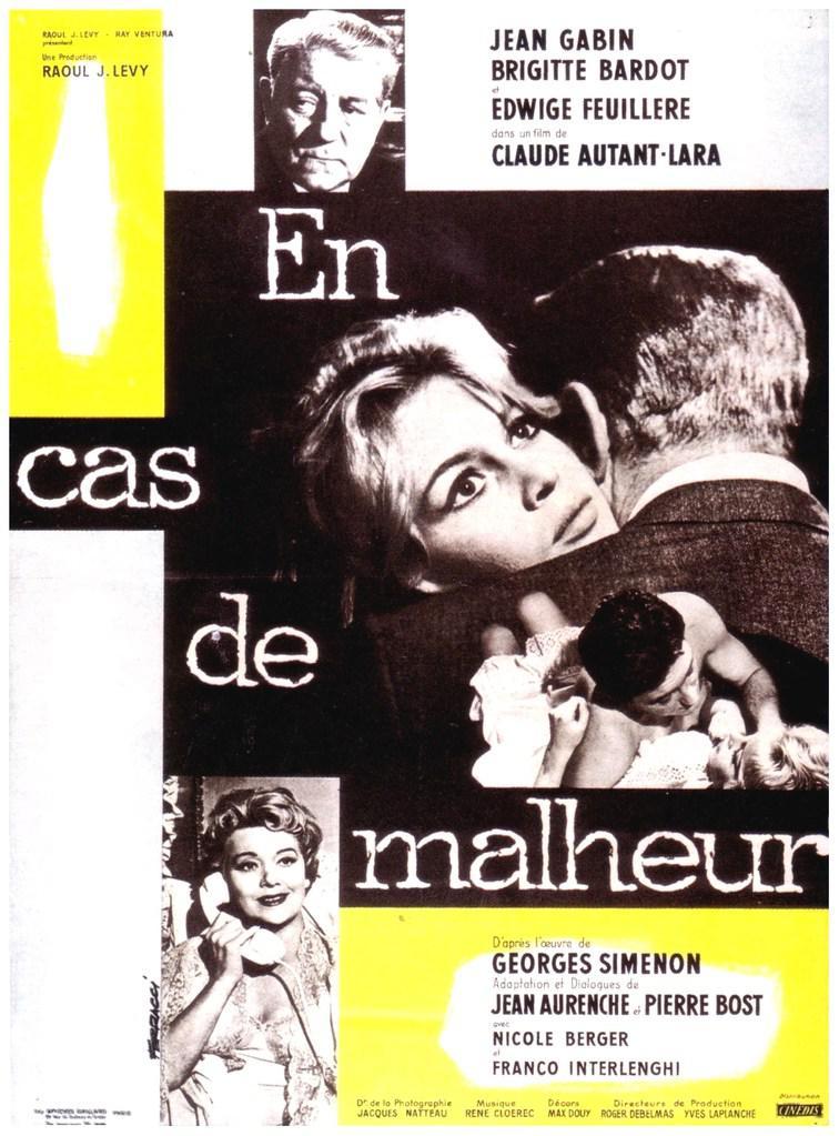 Jacques Butin - Poster France