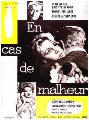 En cas de malheur - Poster France